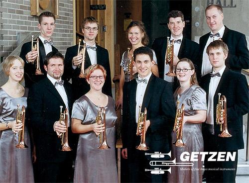 World Class Brass Band Joins Getzen