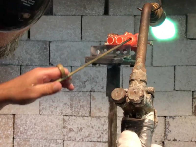 Brazing Trumpet Valves