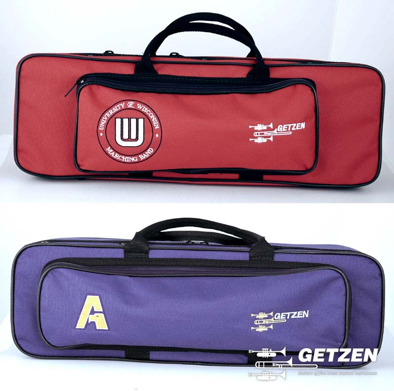 Wisconsin and Auburn Trumpet Cases