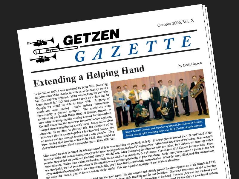 Past Gazettes Now Available for Download